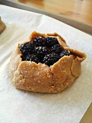 Blackberry Nectarine Tarts
