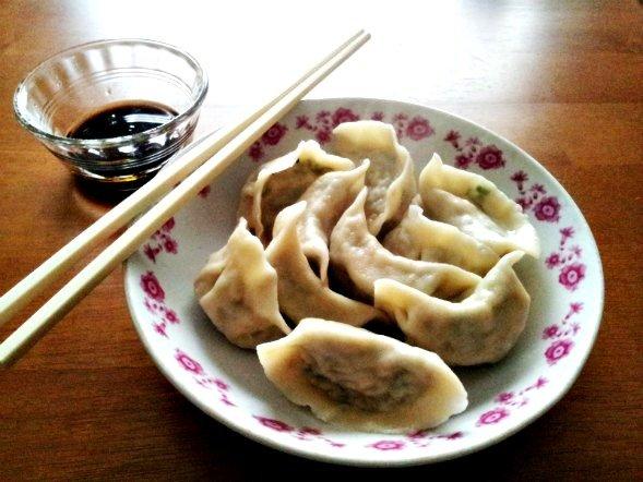 dumplings boiled