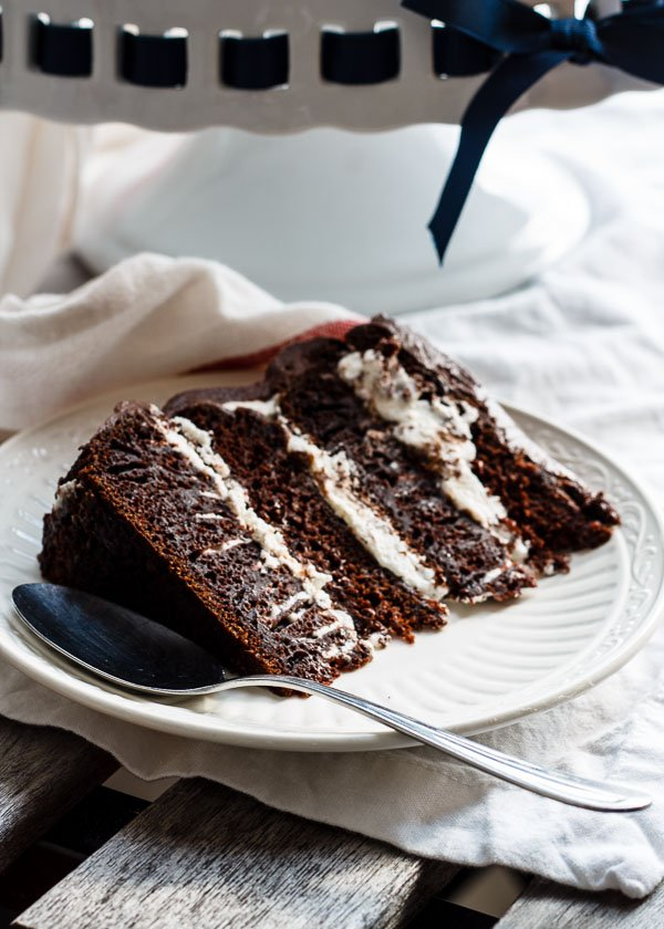 earl grey chocolate layer cake