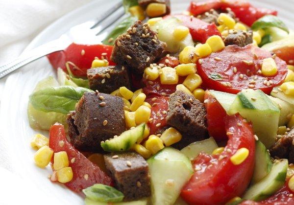 asian panzanella salad