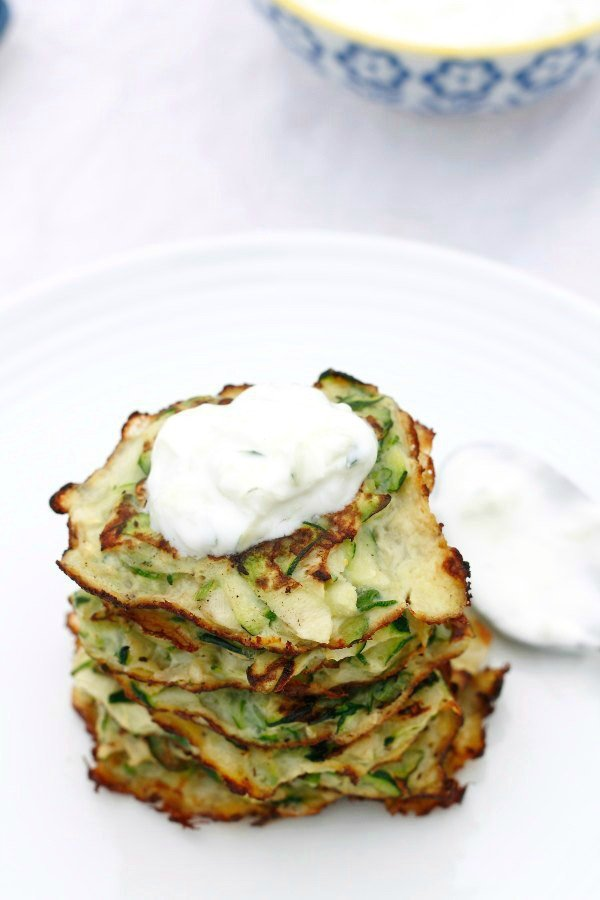 zucchini pancakes 6