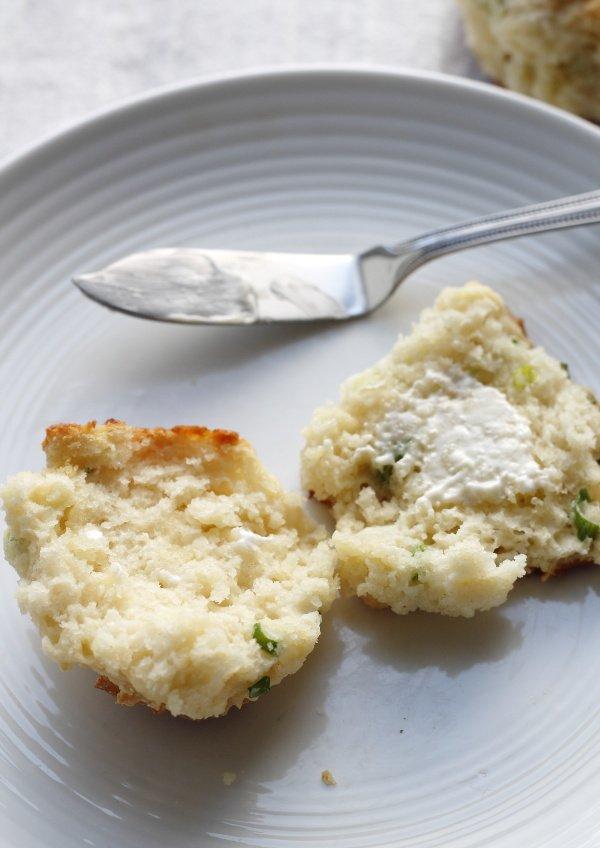 scallion pancake drop biscuit