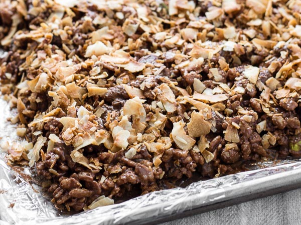 Chocolate Peanut Butter Energy Bars