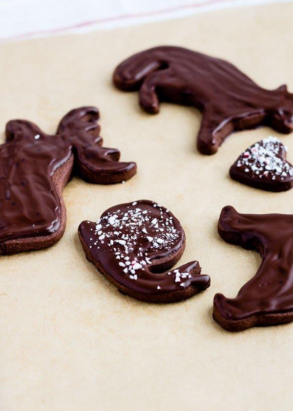 Peppermint Chocolate Shortbread-3