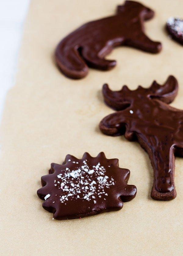Peppermint Chocolate Shortbread-4