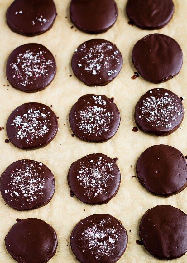 Peppermint Chocolate Shortbread-7