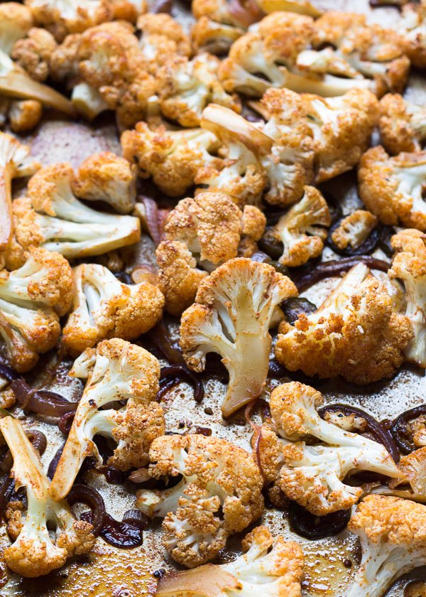 Honey Roasted Cauliflower