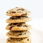 Brown Butter Chocolate Chip Cookies for Lily's Wedding