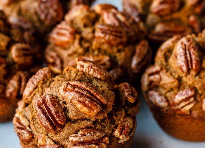 Sweet Potato Teff Muffins