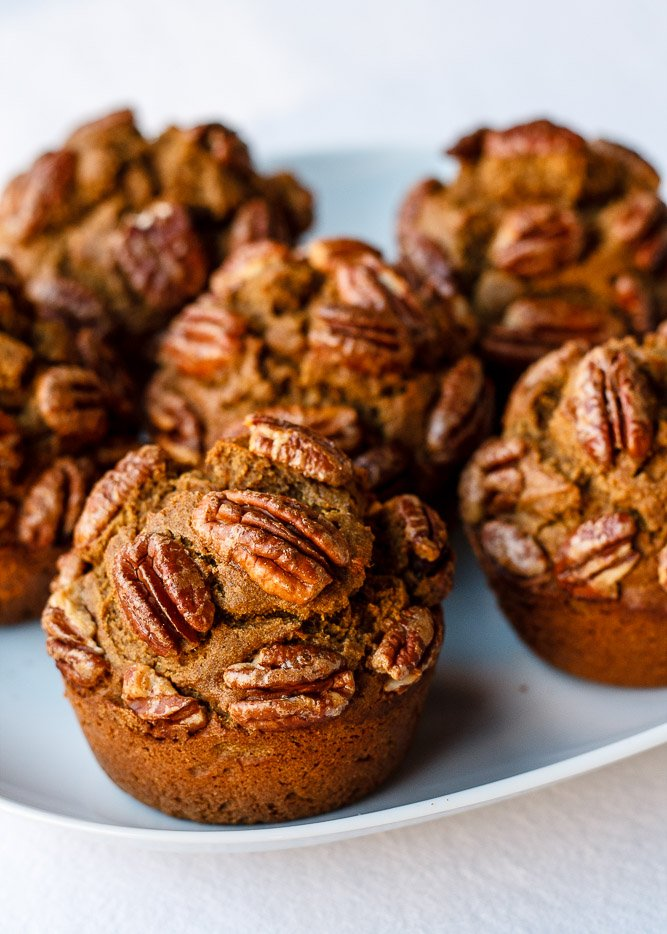 Sweet Potato Teff Muffins