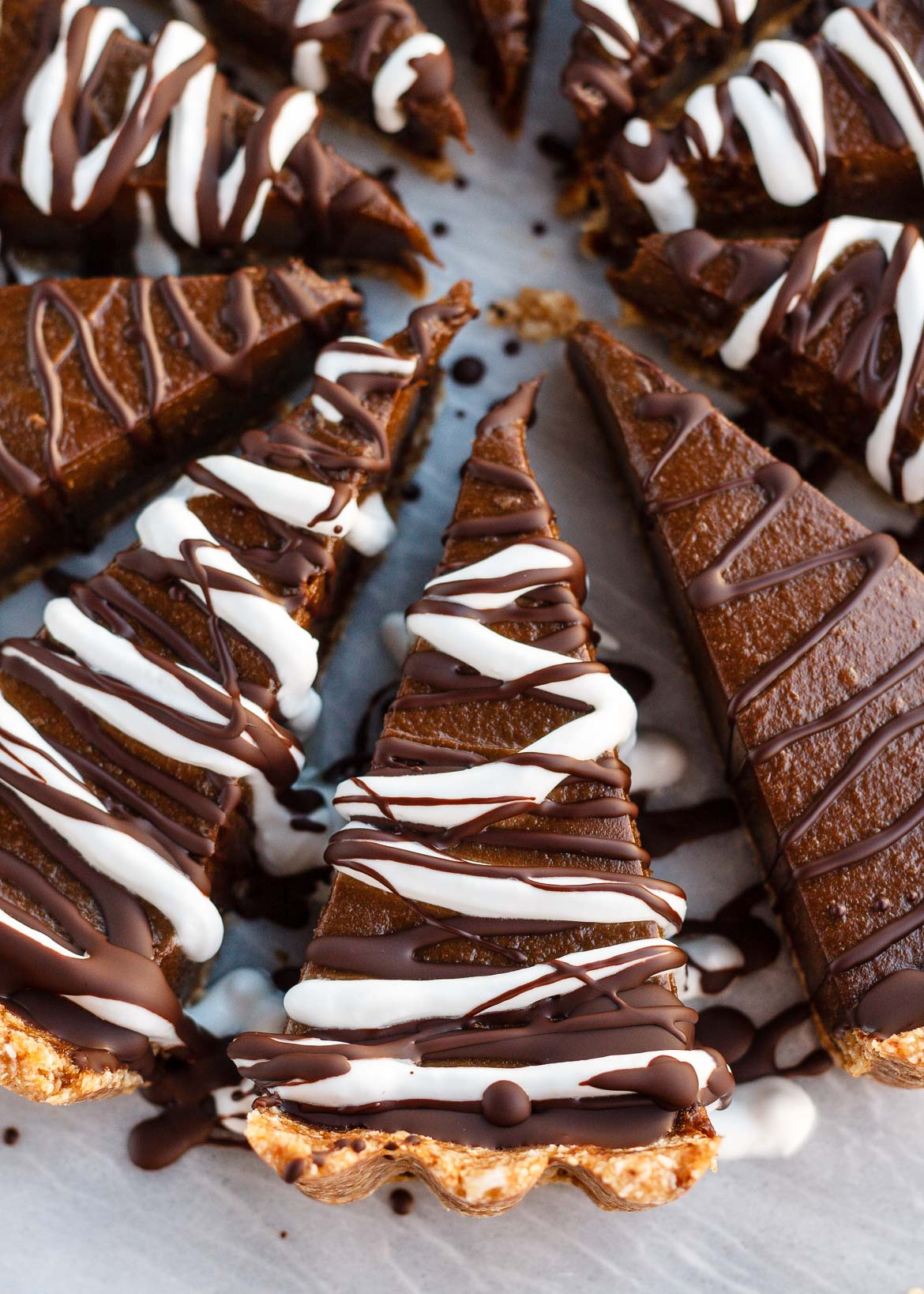 Chocolate Avocado Tart