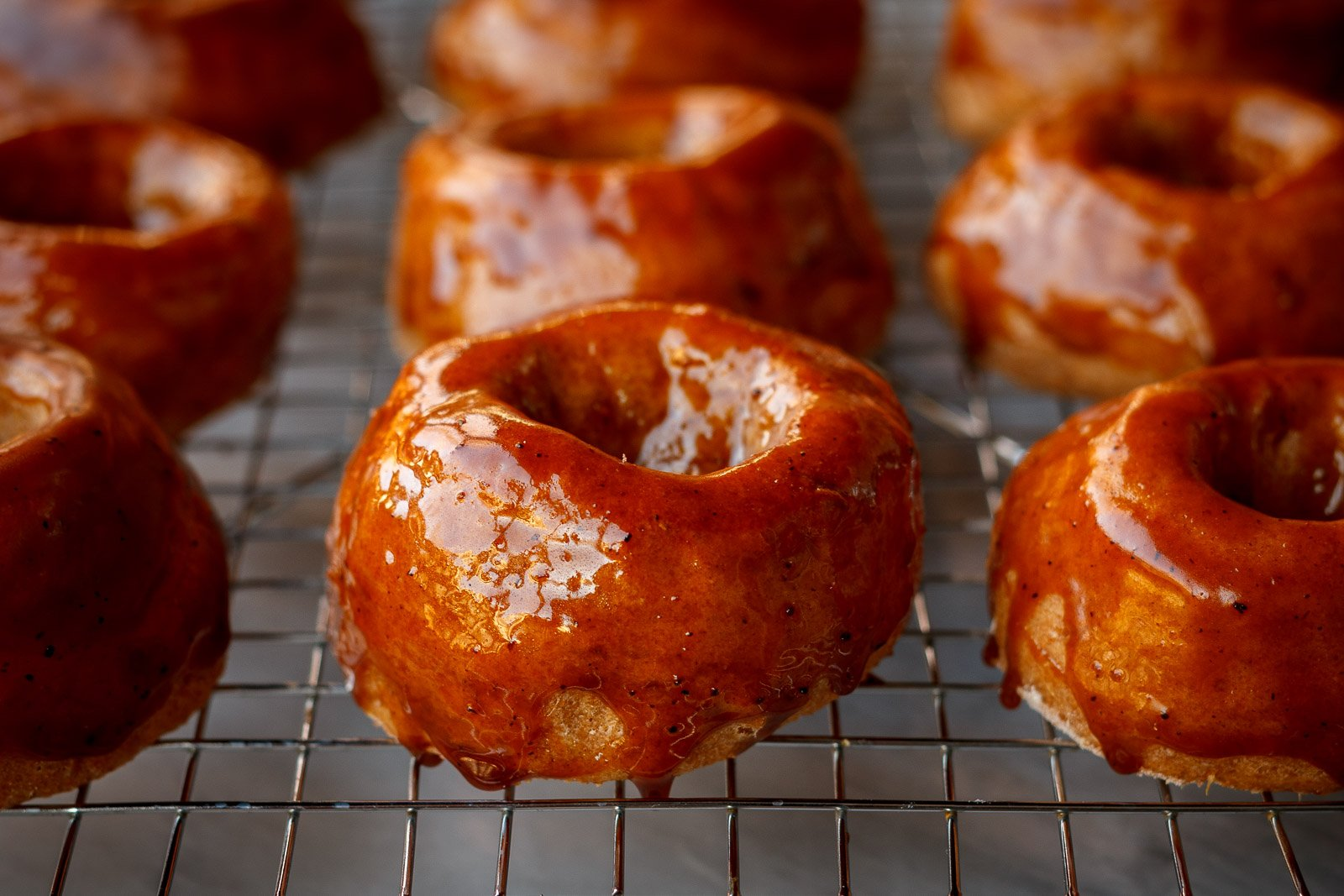 Sweet potato donuts